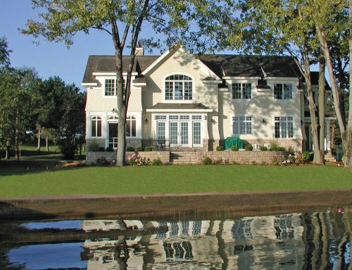 Shingle Style Lake Home