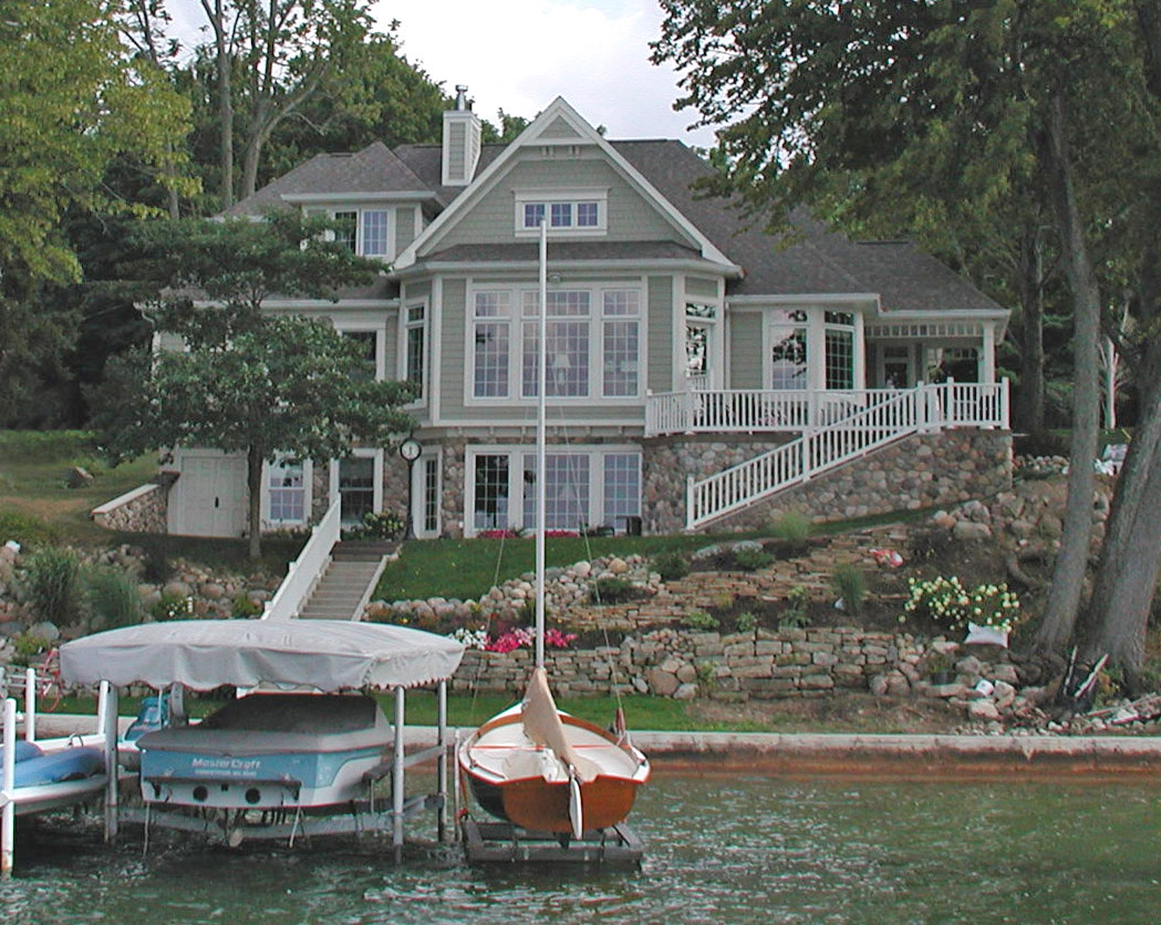 New cottage design and build on Clear Lake