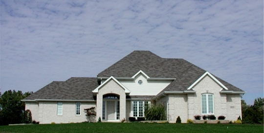 New residential construction in Auburn Indiana