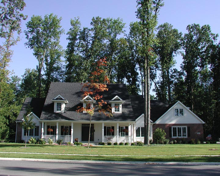 Residential home construction in Allen County