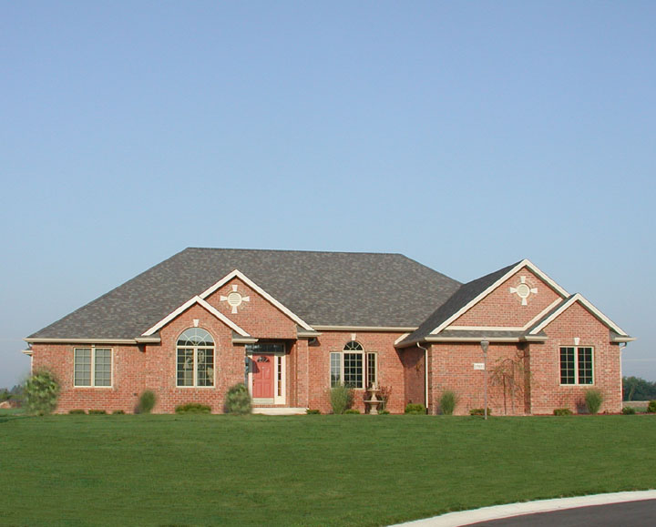 New residential design build in Leo Indiana