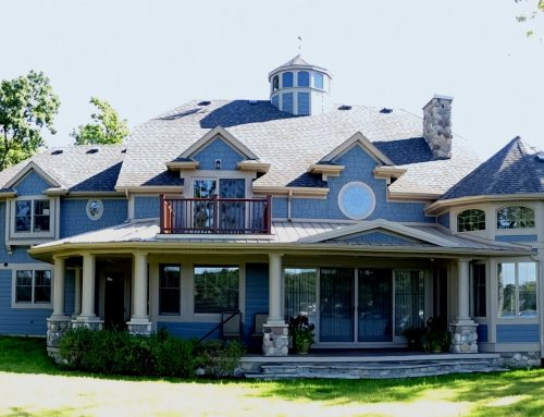 Cape Cod Style Home on Big Long Lake