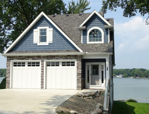 New Lake Home Design & Build on Lake Gage