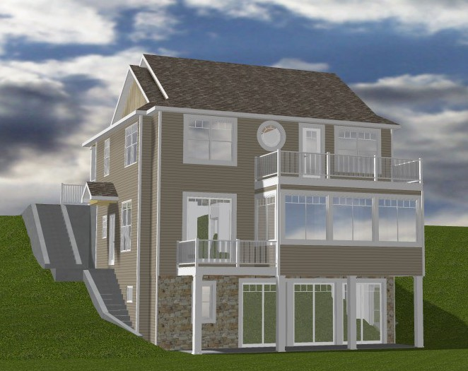 New vacation home on Clear Lake Indiana