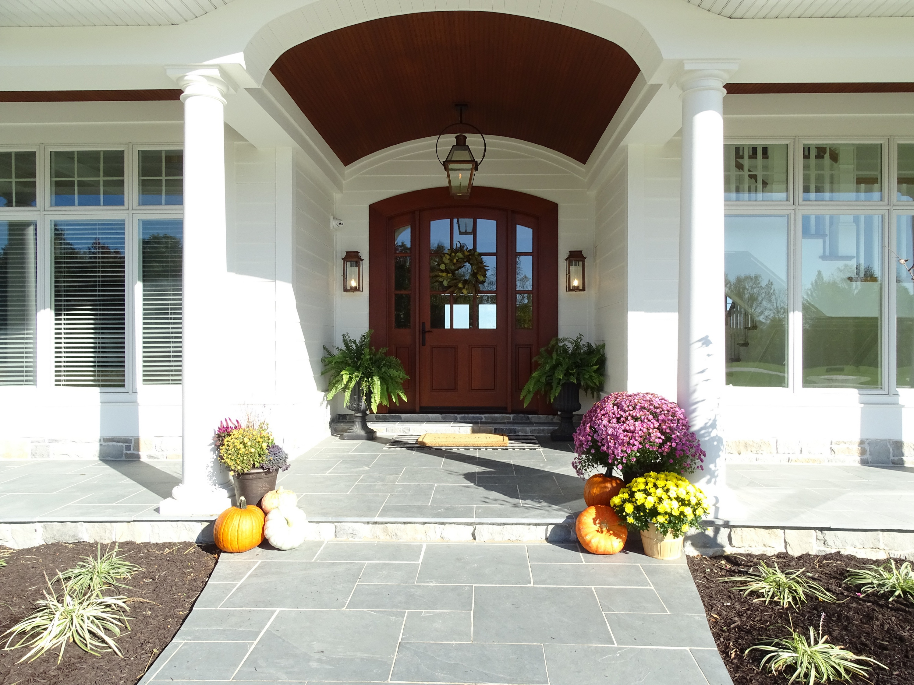 Entry way to new home