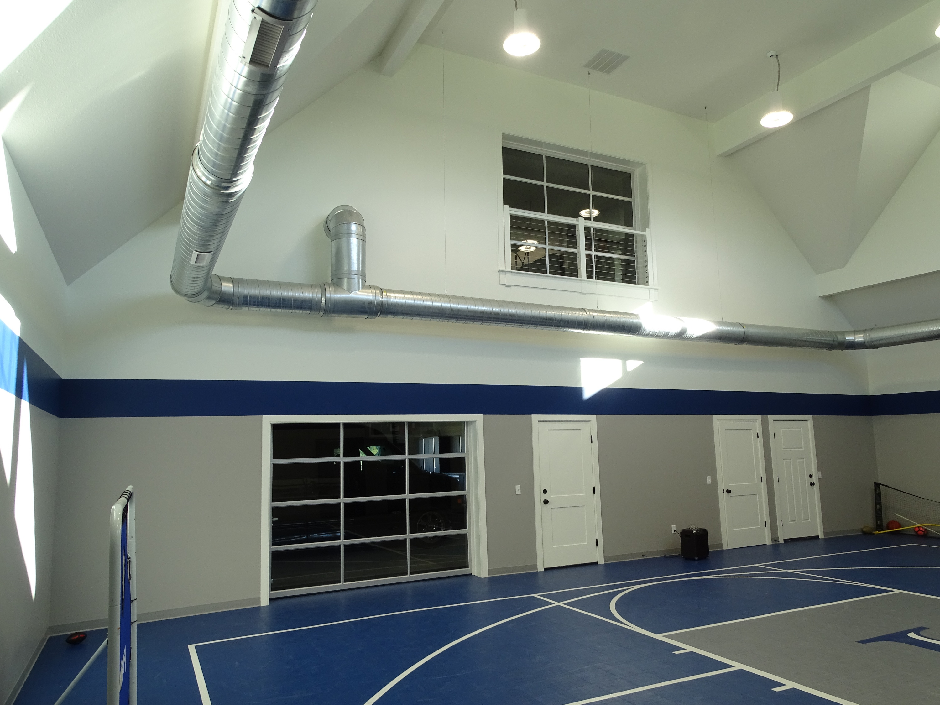 Interior view of recreation building