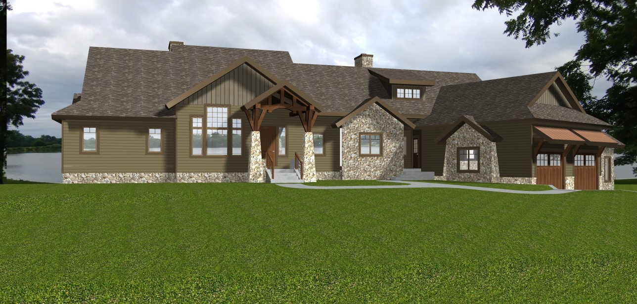 New home construction in Allen County