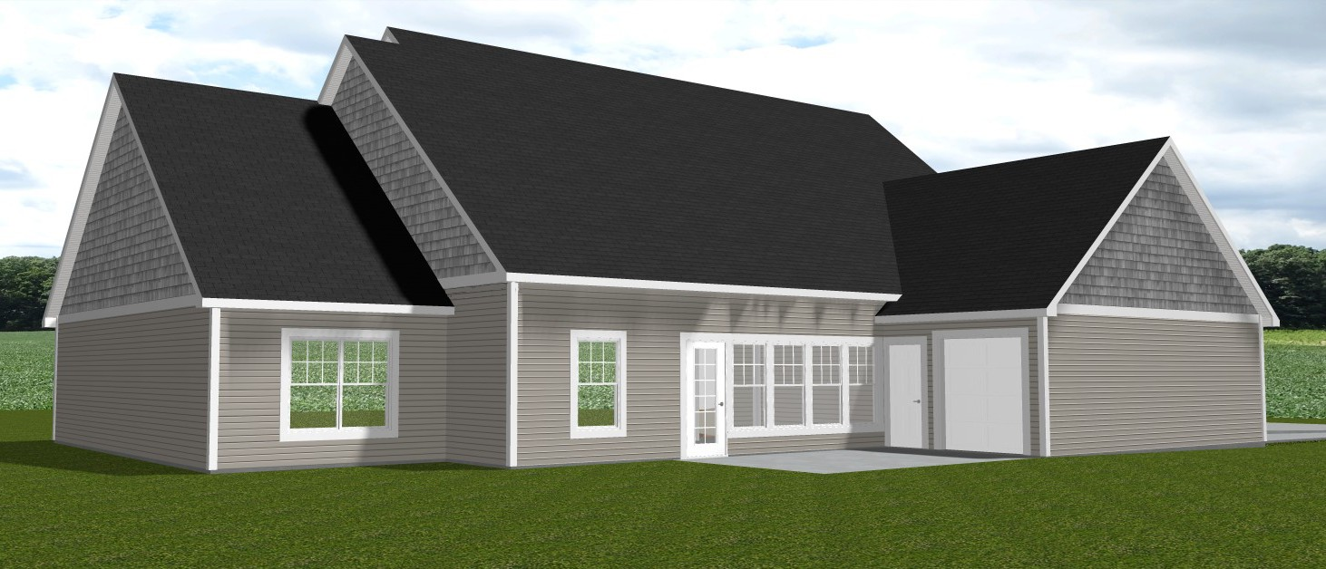 New home building in Indiana