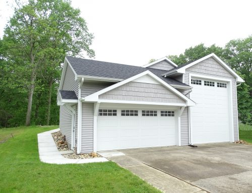 Garage Remodel at Crooked Lake