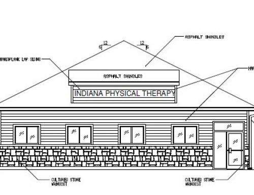 Physical Therapy Office Under Construction in Fort Wayne