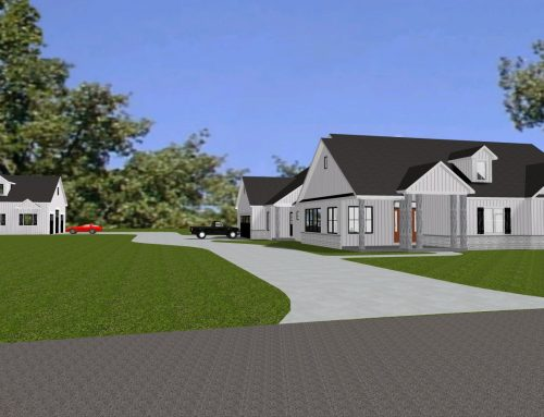 New Home and Outbuilding in Allen County