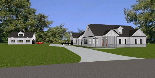 Overall view of project