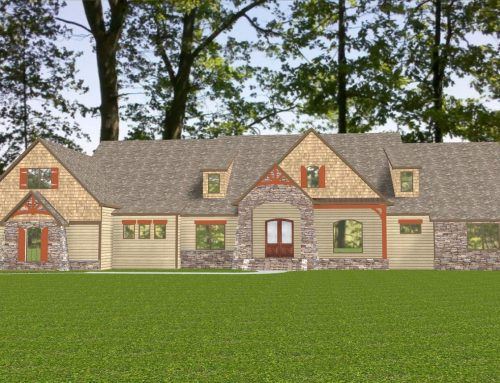 Executive Home in Tullymore Subdivision Under Construction